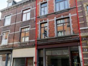 Liège : A un jet de pierre de l'Esplande Saint-Léonard, et un kilomètre de la Place Saint-Lambert. Maison d'habitation et/ou de c
