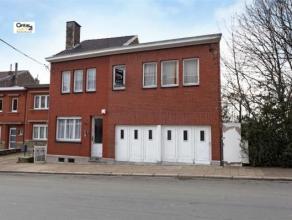 SERAING : Grande maison d'habitation avec 4 chambres, un jardin et un double garage. Situation idéale pour une grande famille. Sous-sol enti&eg