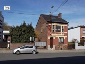"""SERAING-HAUT (""""Air Pur"""") : Sur une parcelle de plus de 1250 m², cette jolie maison, (4 façades, 3-4 chambres) en très bon ét"""
