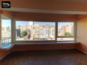 LIEGE : Vue agréable sur la dérivation proche de la Médiacité pour ce bel appartement 2 chambres en parfait état do
