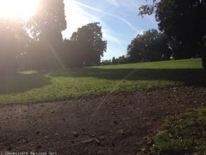 Liege quartier Naimette - Xhovemont face au parc dans un quartier résidentiel de qualité à côté de l école pr
