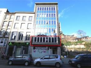 Appartement 2 chambres idéalement situé en plein cur du centre de la ville de Liège.Outre ses 2 chambres, il se compose dun grand