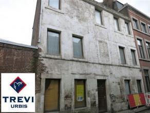OPTION OPTION OPTION !!! Projet de rénovation dans le quartier Saint-Léonard. Maison à rénover entièrement, actuell