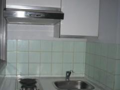 studio situé en plein centre ville comprenant une cuisine semi-équipée (hotte, 2 plaques électriques, un évier et m
