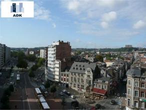 Beau studio rénové situé au 8ème étage avec vue sur centre ville. Hall d'entrée avec penderie, wc sép