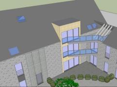 Situé à Waremme, à proximité de laxe Liège-Bruxelles, superbe loft dune superficie denviron 322 m² expos&eacut