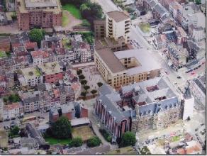VERVIERS, rue de Heusy (Résidence Prince de Galle). Nouveau rez-de-chaussée commercial d'une superficie de 125m². Belle largeur de