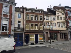 VERVIERS: APPARTEMENT 1 CHAMBRE A LOUER Aux abords de la place du marché, proche de toutes facilités, lumineux appartement compos&eacute