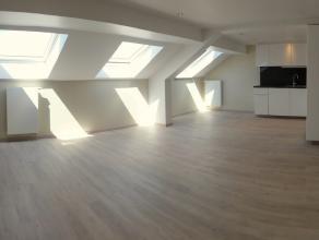 Verviers (rue de Rome) : superbe appartement  louer Au dernier étage d'un immeuble parfaitement rénové, duplex entièrereme