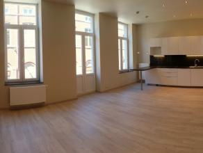 Verviers (rue de Rome) : superbe appartement  louer Au 1er étage d'un immeuble parfaitement rénové, appartement entièrerem