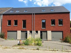HERVE: Nouvelle construction (gros uvre fermé) 3 chambres Dans un quartier calme et proche du centre, RESTE 1 nouvelle construction (gros uvre