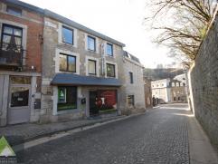 """Située en plein centre de Durbuy, cette ancienne maison de commerce (boucherie) + appartement """"duplex"""" de 5 chambres propose diverses possibili"""