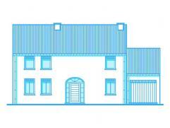 Magnifique maison à construire sur un terrain de 3 ares 16 à 2 min du centre de Paliseul, endroit campagnard, proches des commodit&eacut