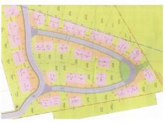 Beaux terrains à bâtir à Achêne, proche de Ciney et des grands axes N4 et E411. Terrains de 5 ares à 12 ares. Libre d