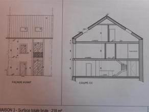 Grange avec permis de construction accordé pour une maison 2 façades. Vous avez le projet de créer votre propre habitation? Ce bi
