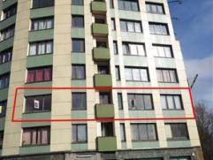 CHARLEROI : Bel et lumineux appartement deux chambres situé au deuxième étage. Cet appartement bénéficie d'un bon e
