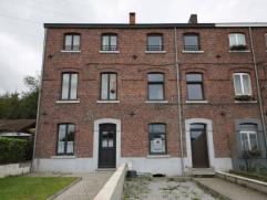 Mont-sur-Marchienne : à louer au rez de chaussée appartement entièrement rénové comprenant living avec cuisine &eac