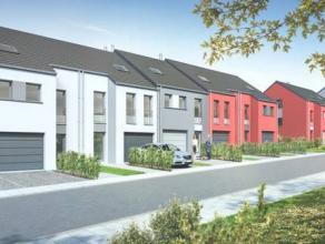 Dans un ensemble de huit habitations neuves, le lot 9 ètant une maison passive, trois façades, proposée en gros oeuvre ferm&eacut