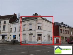 POSSIBILITE DE FAIRE OFFRE A PARTIR DE 109.000 euro Immeuble mixte à rénover avec ancien rez commercial et appartement à l'&eacut