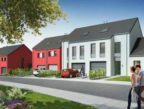 Ensemble de 9 superbes habitations. Vendu en gros-œuvre fermé Constructions passives Jardin privatif pour chacune des unités +/- 200m&su