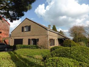 Adresse : Chaussée de Charleroi, 472 Superbe villa 4 façades pouvant être aménagée en plain pied ou sur 2 éta
