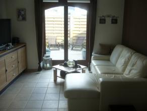 Duplex 1 slaapkamer met ingerichte keuken, woonkamer, badkamer (douche/dubbele lavabo/toilet), terras - uitstekende isolatie