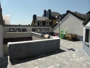 Immeuble mixte au centre d'Arlon, pourvu d'une cour intérieure et d'une magnifique terrasse à l'abri des regards orientée plein s