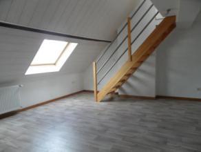 Appartement louer dans le centre-ville d'Arlon, proche de la gare et des commodits. Compos d'une chambre, une salle de bain + douche, wc et espace bua
