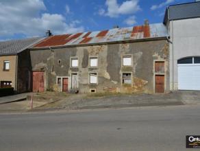 GUERLANGE : fermette à rénover entièrement située sur un terrain de 10 ares (19m de façade).