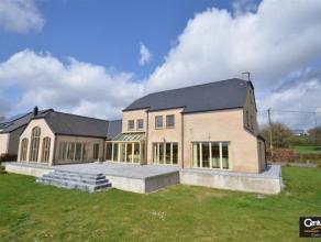 Arlon : Très belle propriété située en bout de zone à bâtir et disposant d'une magnifique vue sur la campagne