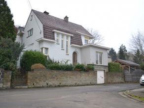 Superbe et confortable villa avec jardin aménagé, exposé plein sud, le tout sis dans un quartier résidentiel très c