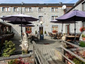 Excellent hôtel-restaurant situé dans un village typique de la Commune de Durbuy jouissant d'une situation idéale à 3 kms s