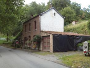 BARVAUX (Durbuy): Bonne maison 4 façade située à 1km du centre de Barvaux et comprenant entrée, salle à manger, sal