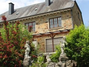 BARVAUX: Excellente maison 3 façades en pierres du Pays sur 8a33. Beau séjour, grd hall, cuis. éq., 3ch, sdb, grenier amén