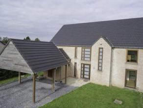 ERQUENNES - Rue Vert Pignon, 14 Agréable villa 4 chambres à 10 min de l'autoroute  RDC : Hall d'entrée - Living - Cuisine &eacute