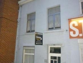 Mons - Rue Fariaux, 41 - Maison 2 chambres - Salon - SAM - Cuisine - Véranda - Cour - Remise - Grenier - Prix indicatif : 49.000€