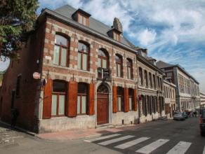 Mons - Rue des Dominicains, 1 - Vaste et superbe demeure Montoise du début XVIIIe - RDC : Vaste hall d'entrée - Bureau - Salon - SAM - C