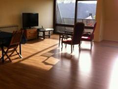Mons rue de Bouzanton 6, bel appartement comp:hall d'entrée, wc, grand séjour, cuisine équipée, 1 buanderie, 1 salle de ba
