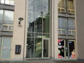 Mons rue de Nimy 63-D3.1, bel appartement centre ville (40m²), comp: séjour avec cuisine équipée, salle de bain, 1 chambre.