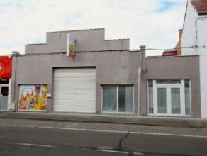 Mons, chaussée de Ghlin n° 140- Très beau rez-de-chaussée commercial sur route très fréquentée, id&eacut
