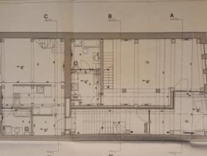 Ancienne grange en excellent état à 300m de la place de Chièvres; habritant 3 entités locatives (2 appartements et 1 comme