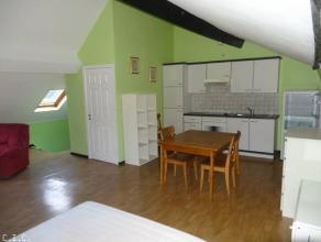Studio en parfait état d'entretien, (± 45 m²) situé au 3ème étage sans ascenseur, centre ville. Id&eacut