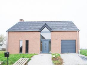 Réf. 137 : Superbe villa construite en mars 2013, dans un endroit calme et paisible de Chièvres.Elle est composée d'un hall