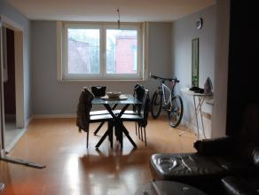 A LOUER(HERSEAUX)Appartement comprenant: living, cuisine semi-équipée, salle de bains avec douche, meuble lavabo et WC, 1 chambre. Id&ea