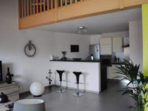 """A LOUER(HERSEAUX)Appartement de STANDING de 109 m² dans la """"Résidence de la Place"""" au 3ème étage avec ascenseur.Appartement"""