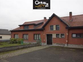 Vaste maison de plain-pied sur jardin de 5 ares 63 ca, habitable de suite avec 4 chambres, cuisine, salon, salle à manger, sdb, buanderie, cave