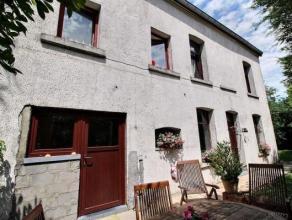 Charmante maison 4 façades, située dans un endroit calme et paisible, entourée de verdure. Vous pourrez y trouver un living, une