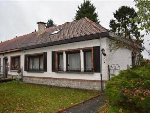 Maison 3 façades dans la Cité du Parc avec Garage (n°5), véranda et jardin Au centre du village de Chièvres Sous-sol :