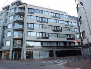 Verzorgd en instapklaar appartement gelegen tussen de zeedijk en het station van Blankenberge. Inkomhal, living, recente open geïnstalleerde keuk