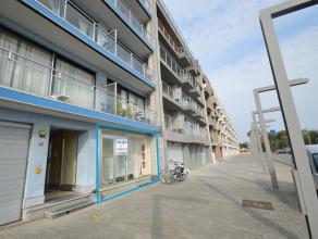 Gelijkvloers appartement met zicht uit de leefruimte op de jachthaven. Mogelijkheid tot aankoop van een bijhorend appartement op het gelijkvloers voo
